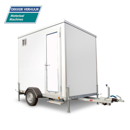 Mobile badkamer huren Dekker verhuur