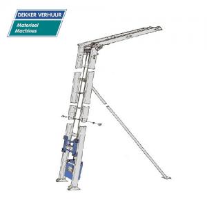 ladderlift - pannenlift huren Dekker Verhuur