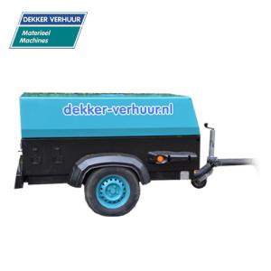 Mobile compressor huren Dekker Verhuur