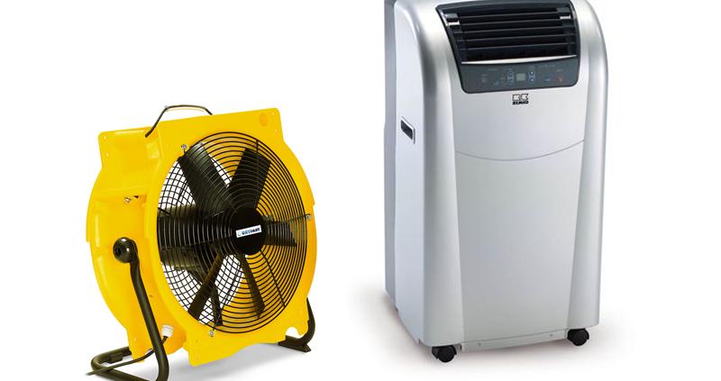 Airco - ventilator Dekker Verhuur